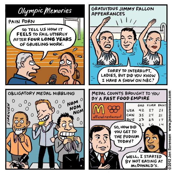 This Week's Cartoon: Olympic Memories