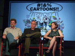 Clay Bennett, Tom Tomorrow, Jen Sorensen at AAEC