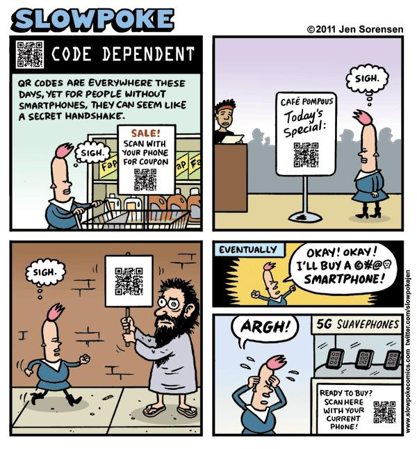 "This Week's Cartoon: ""Code Dependent"""
