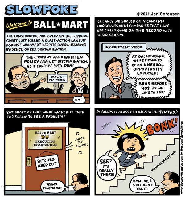 "This Week's Cartoon: ""Welcome to Ball-Mart"""