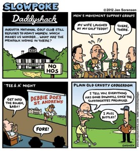 This Week's Cartoon: Daddyshack