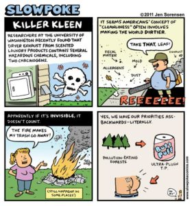 "This Week's Cartoon: ""Killer Kleen"""