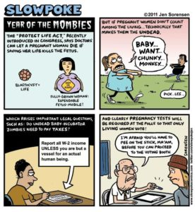 "This Week's Cartoon: ""Year of the Mombies"""