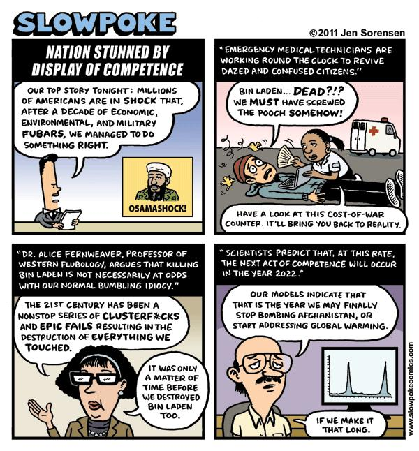 """This Week's Cartoon: """"Nation Stunned By Display of Competence"""""""
