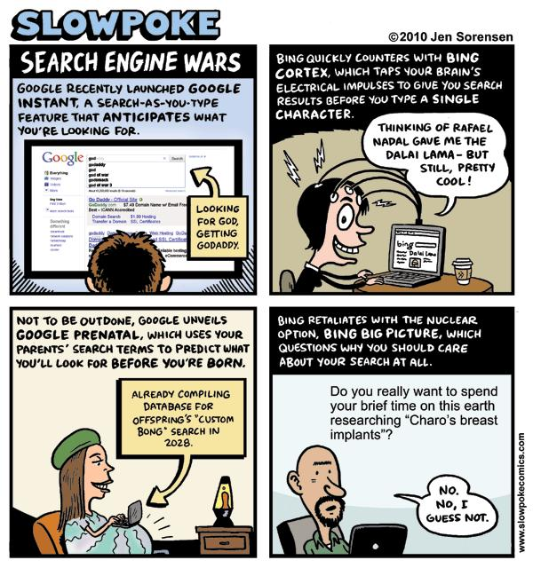 "This Week's Cartoon: ""Search Engine Wars"""