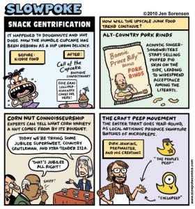 "This Week's Cartoon: ""Snack Gentrification"""