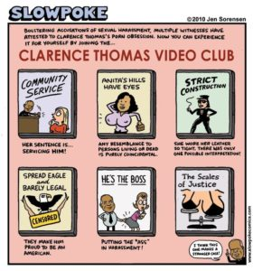 "This Week's Cartoon: ""Clarence Thomas Video Club"""