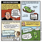 "This Week's Cartoon: ""Wealthcare"""