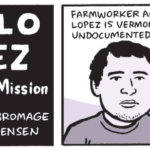 Comic on Immigrant Activist Danilo Lopez