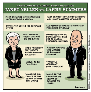 Handy Chart: Janet Yellen vs. Larry Summers