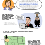 My Experience With Obamacare: Comic for Kaiser Health News