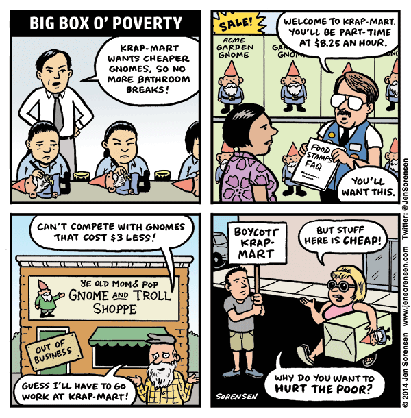 Big Box o' Poverty