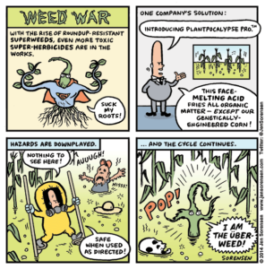Weed War: Superweeds vs. Super-herbici