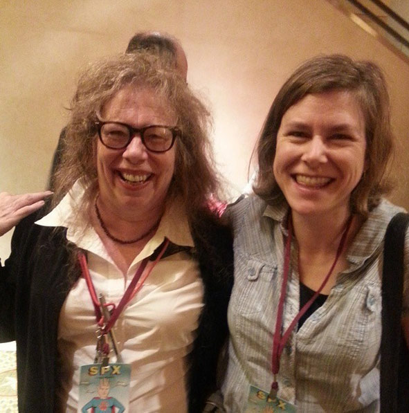 Lynda Barry and Jen Sorensen at SPX 2014
