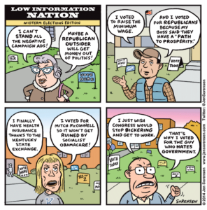 Low-information Nation: Midterm Elections Edition