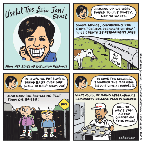 Useful Tips from Senator Joni Ernst