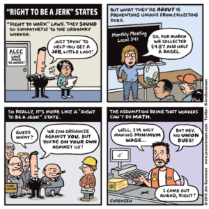"""Right to be a jerk"" states"