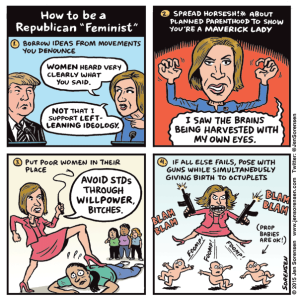 "How to be a Republican ""Feminist"""