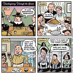 Thanksgiving Through the Years