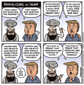 Radical Cleric vs. Trump