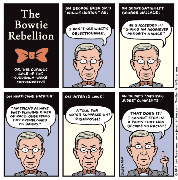 George Will's Bowtie Rebellion