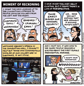 Moment of reckoning at the DNC
