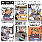 Cartoon: Kiss and Yell