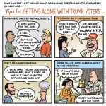 Tips for getting along with Trump voters