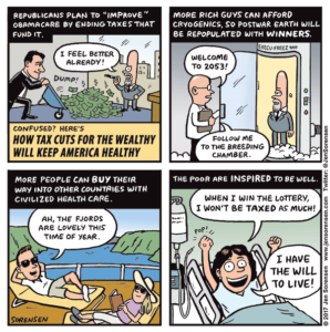How tax cuts for the wealthy keep America healthy