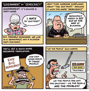 """""""Government"""" or """"Democracy""""?"""