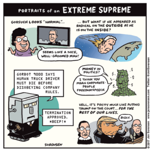 Portraits of an Extreme Supreme
