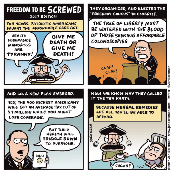 Freedom to be Screwed, 2017 edition