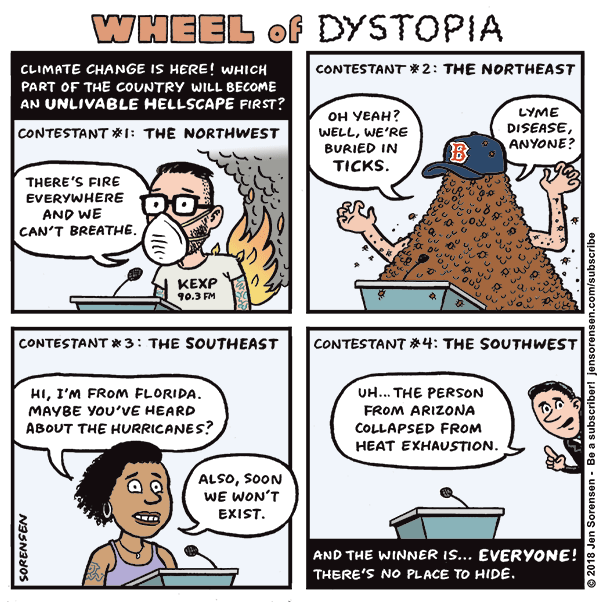 Wheel of Dystopia