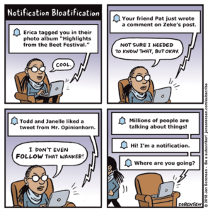 Notification Bloatification