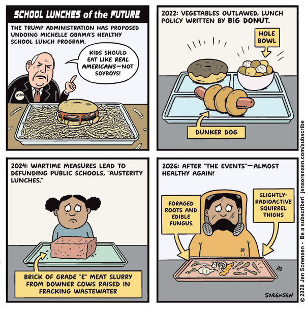 School Lunches of the Future