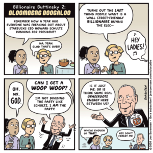 Billionaire Buttinsky 2: Bloomberg Boogaloo