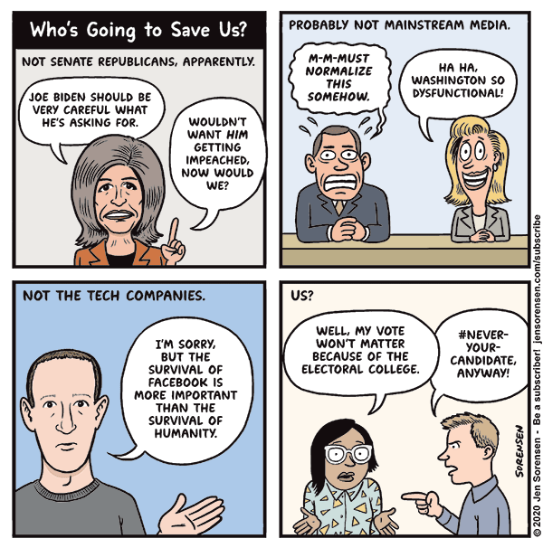 Who's Going to Save Us?