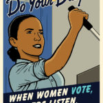 National Women's Law Center Poster: Do Your Duty!