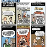 "This Week's Cartoon: ""New Car Runs on Ignorance"""