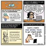 """This Week's Cartoon: """"New Product Warning Labels"""""""