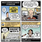 Cartoon flashback: World's Scientists Flummoxed by Snowstorm