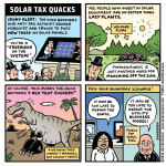Solar Tax Quacks