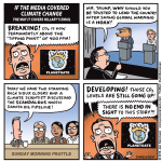 If the media covered climate change the way it covers Hillary's email