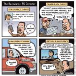 The backwards B.S. detector
