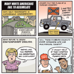 Many White Americans Fail to Assimilate