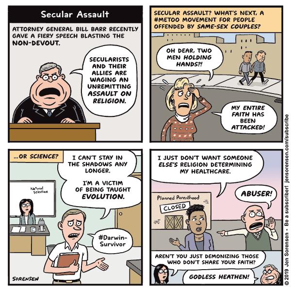 Secular Assault